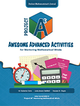 Project A3: Awesome Advanced Activities for Mentoring Mathematical Minds Level 3-4 Student Mathematician's Journal