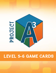 Project A3: Awesome Advanced Activities for Mentoring Mathematical Minds Level 5-6 Game Cards