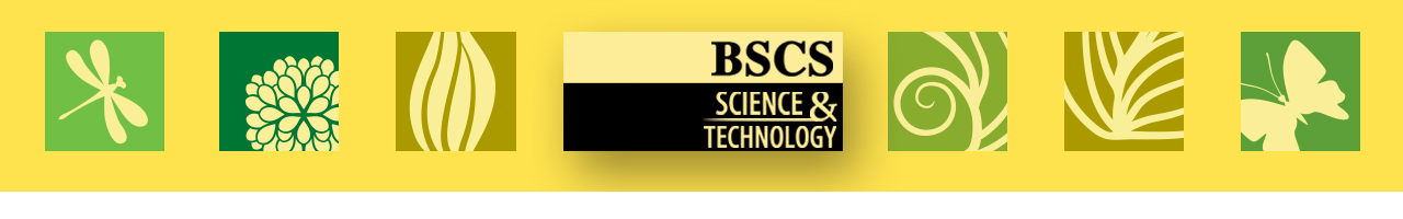 BSCS Science and Technology Banner, high school science