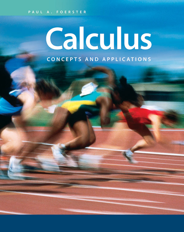 Calculus: Concepts and Applications Student Text + 6 Year Online License