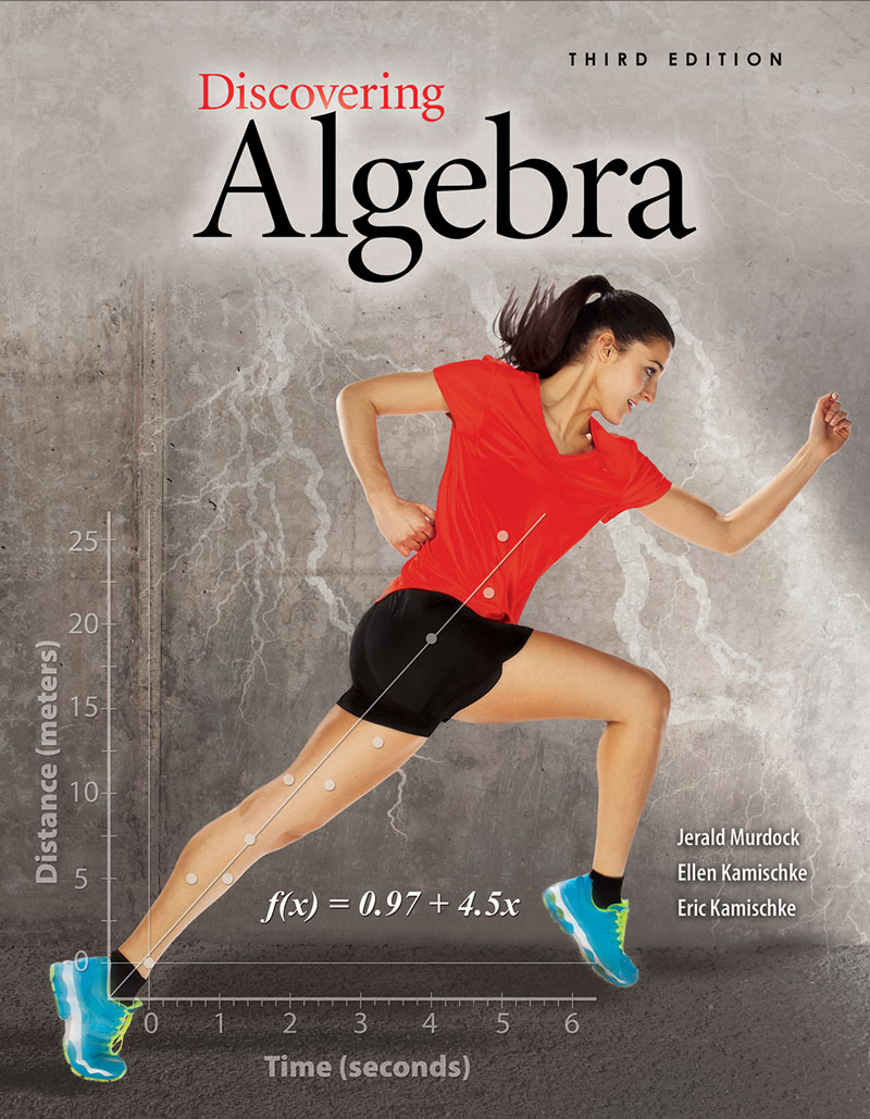 Discovering Algebra: An Investigative Approach - Student Edition eBook 1  Year Online License