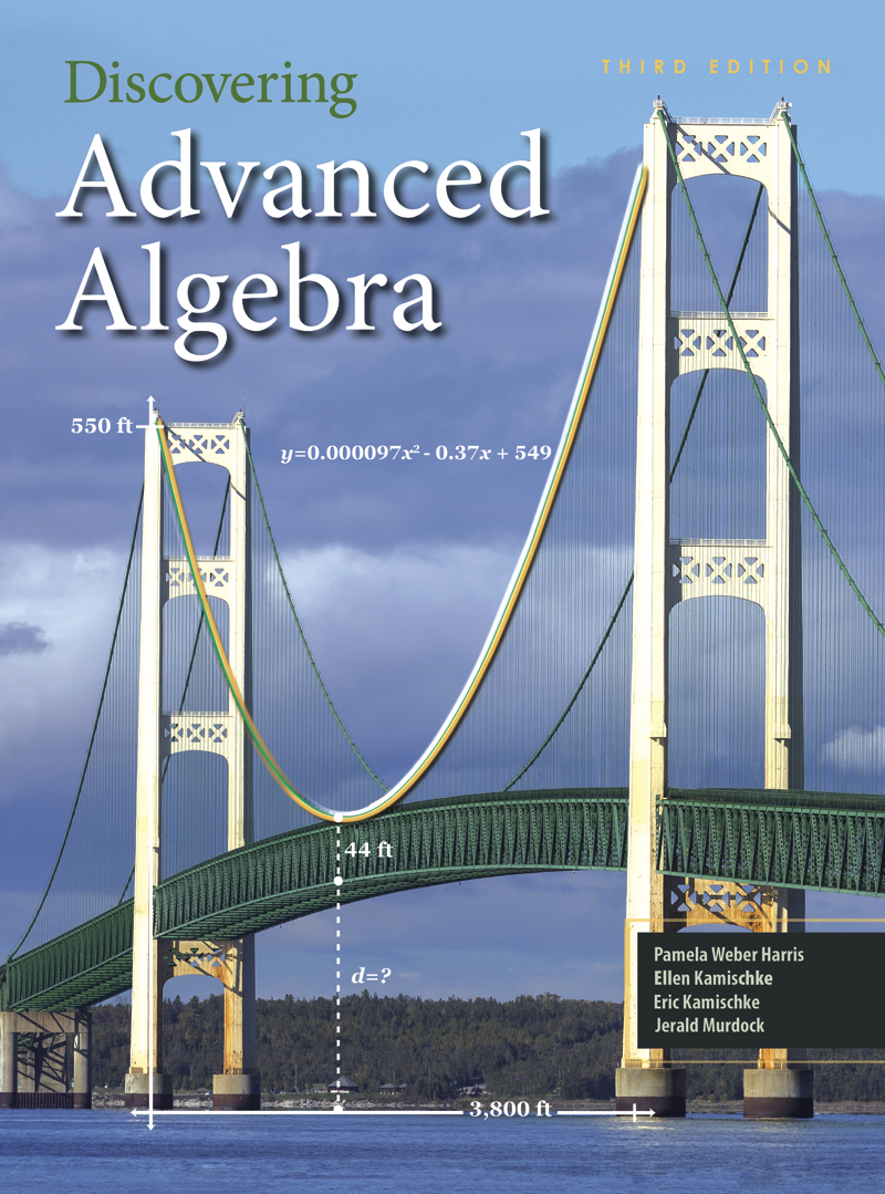 Discovering Advanced Algebra: An Investigative Approach - Student Edition eBook 1 Year Online License