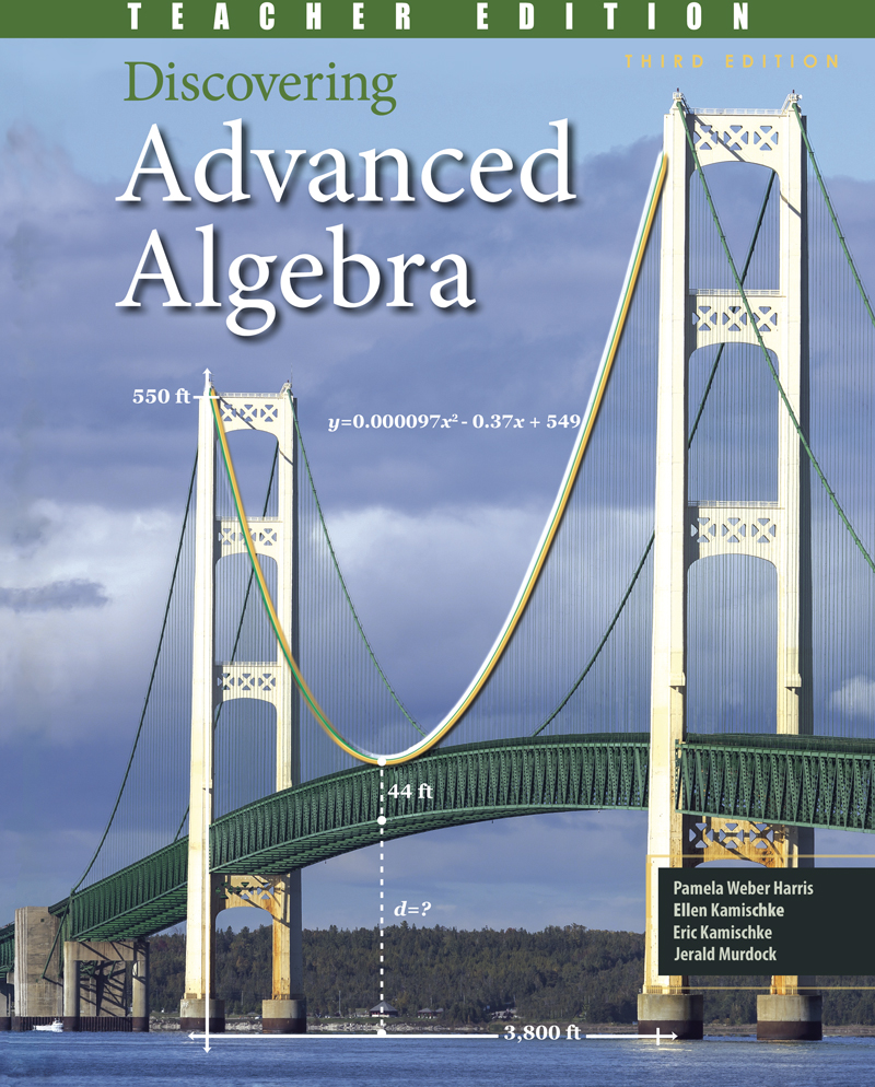 Discovering Advanced Algebra: An Investigative Approach Teacher Edition + 6 Year Online License
