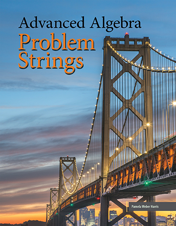 Discovering Advanced Algebra Problem Strings Coil Bound
