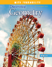 Discovering Geometry with Probability: Student Edition + 6 Year License