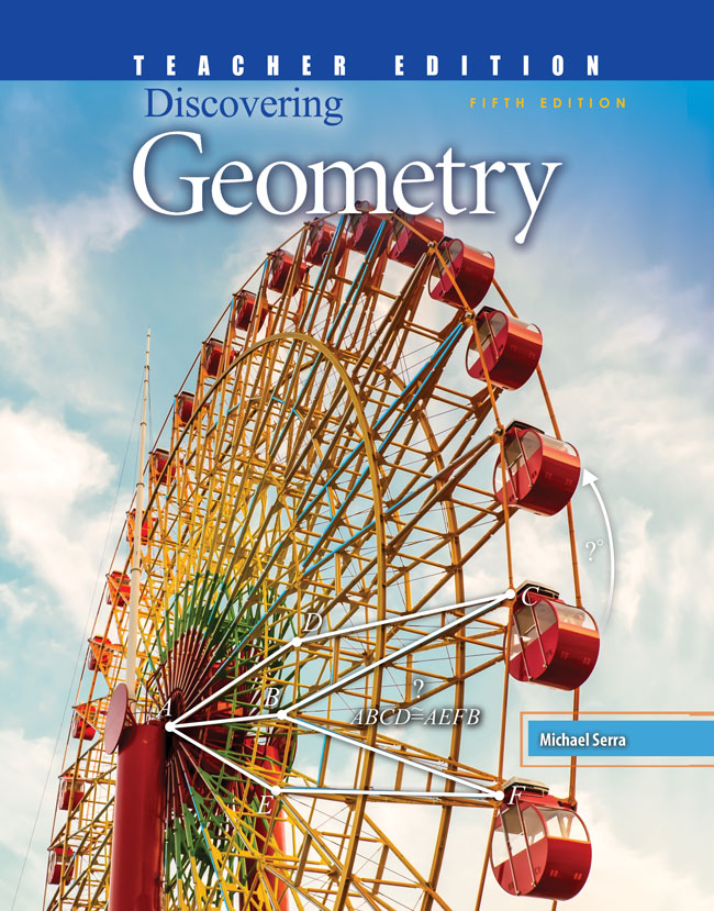 Discovering Geometry Teacher Edition Prek 12