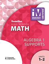 Illustrative Mathematics: Algebra I Supports Teacher Guide