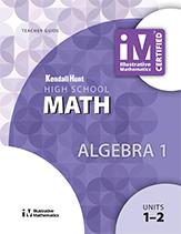 Illustrative Mathematics: Algebra I Teacher Guide
