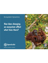 OpenSciEd Unit 7.5: How does changing an ecosystem affect what lives there? Teacher Edition