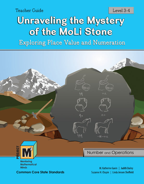 Project M3: Level 3-4: Unraveling the Mystery of the MoLi Stone: Exploring Place Value & Numeration Teacher 3 Year Online License