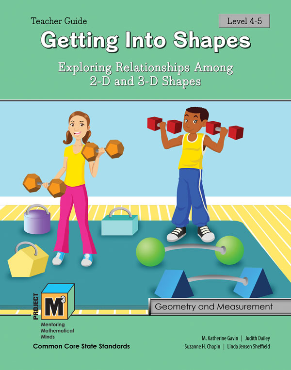 Project M3: Level 4-5: Getting Into Shapes Teacher 3 Year Online License