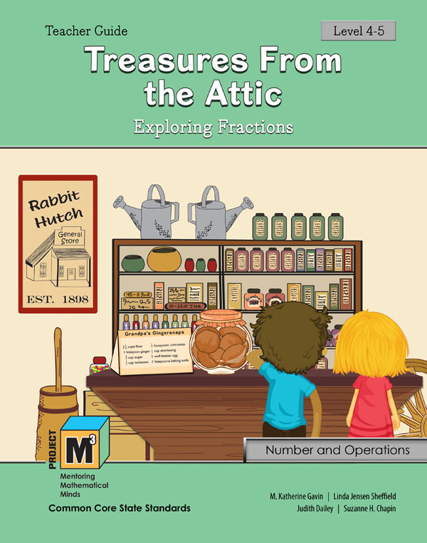 Project M3: Level 4-5: Treasures from the Attic: Exploring Fractions Teacher 3 Year Online License