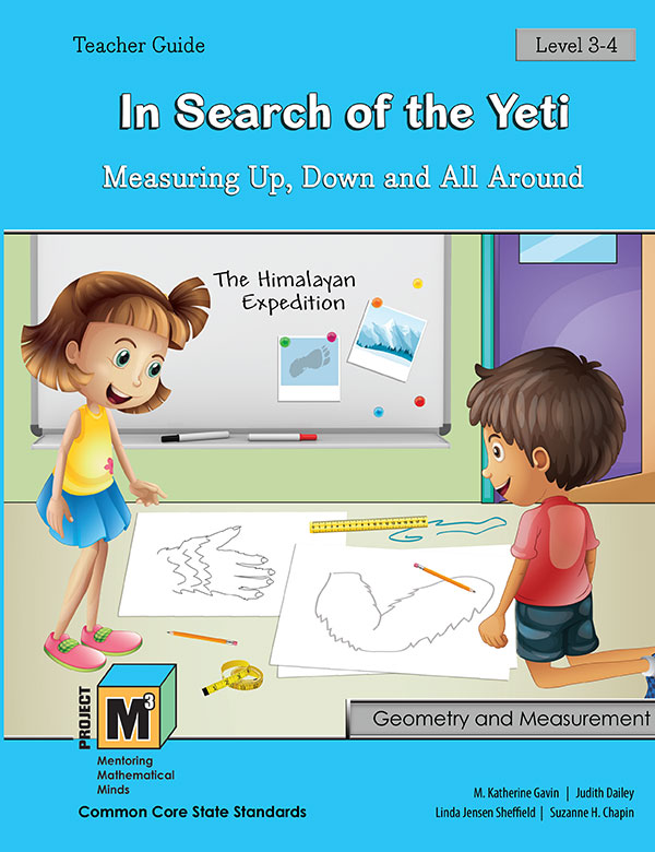 Project M3: Level 3-4: In Search of the Yeti: Measuring Up, Down and All Around Teacher 3 Year Online License