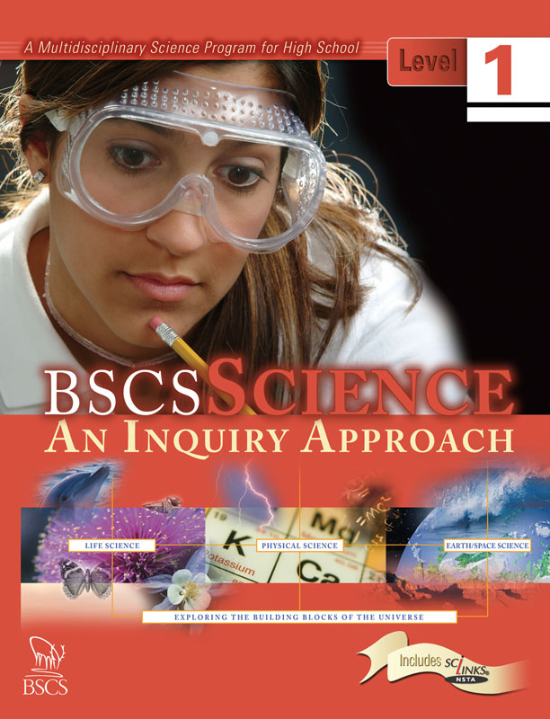 BSCS Science: An Inquiry Approach Level 1 Student Edition Textbook Cover