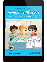 Project M3: Level 3-4: Awesome Algebra: Looking for Patterns and Generalizations Student Mathematician's Journal 1 Year License