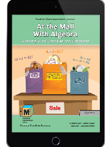 Project M3: Level 4-5: At the Mall With Algebra: Working With Variables and Equations Student Mathematician's Journal 1 Year License