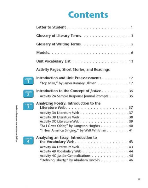 Pursuit of Justice SE TOC page iii.JPG