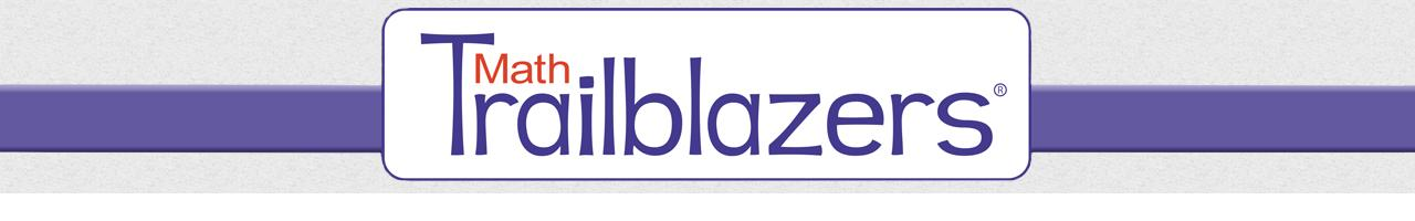 Math Trailblazers Banner
